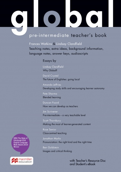 Global Pre-intermediate Teacher´s Book + Resource CD Pack