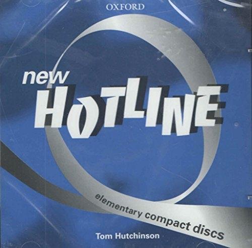 NEW HOTLINE ELEMENTARY CLASS AUDIO CD : 9780194375245