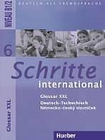 Schritte international 6 Glossar XXL Deutsch-Tschechisch