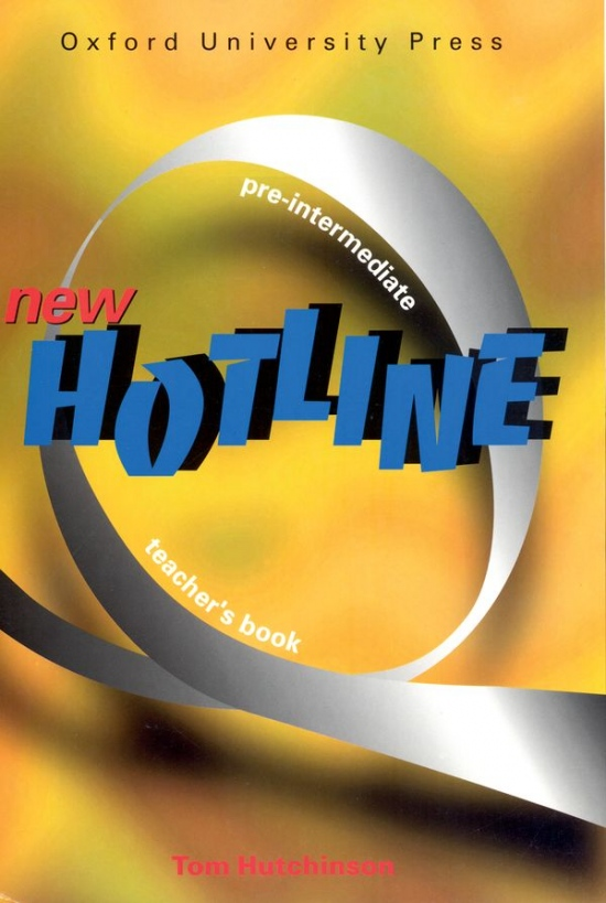 NEW HOTLINE PRE-INTERMEDIATE TEACHER´S BOOK : 9780194357654