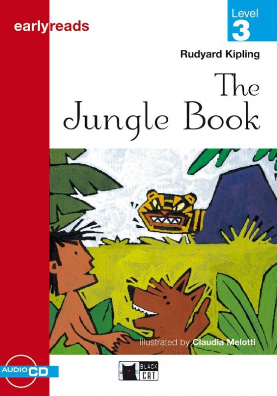 Black Cat JUNGLE BOOK + CD ( Early Readers Level 3)