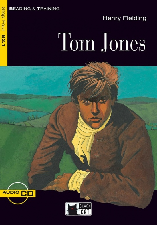 Black Cat TOM JONES + CD ( Reading & Training Level 4)