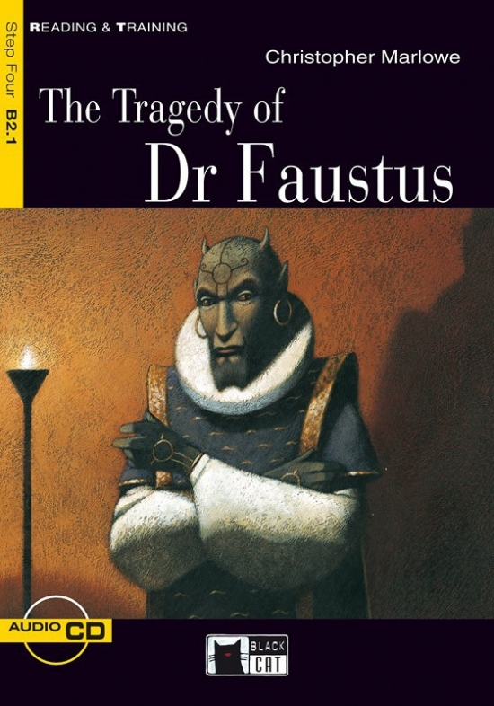 Black Cat TRAGEDY OF DR FAUSTUS + CD ( Reading & Training Level 4)