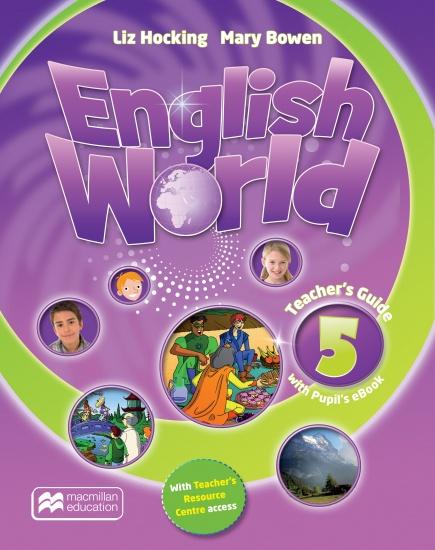 English World 5 Teacher´s Book with eBook : 9781786327260