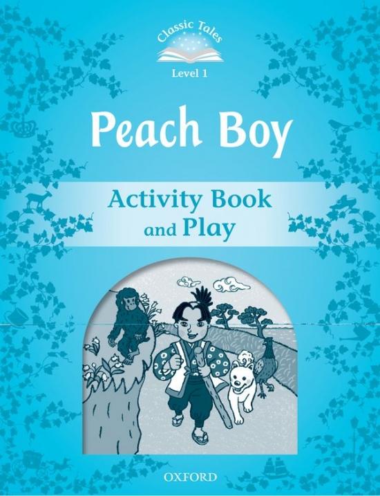 CLASSIC TALES Second Edition Beginner 1 Peach Boy Activity Book : 9780194238595