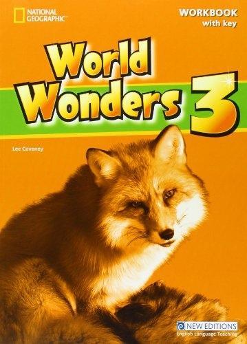 World Wonders 3 Workbook with Key : 9781424078950
