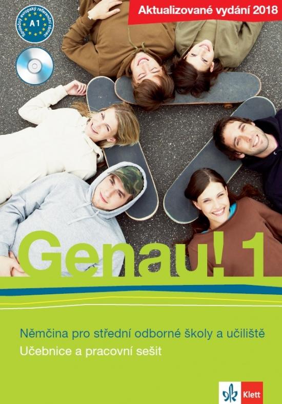 Genau! 1 - Učebnice s pracovním sešitem a Audio CD + BERUF