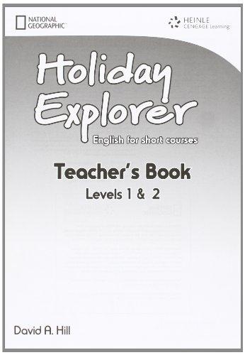 Holiday Explorer 1 & 2 Teacher´s Book : 9781111400620