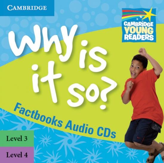 Cambridge Factbooks 3 - 4 Audio CDs