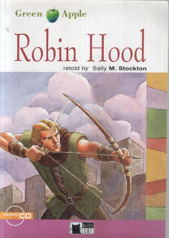 Black Cat Robin Hood + CD (Green Apple level 2) : 9788877549877