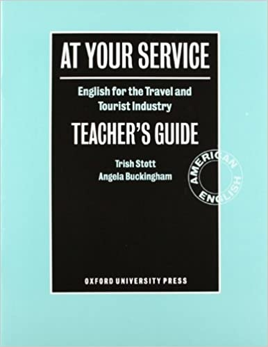 AT YOUR SERVICE TEACHER´S BOOK : 9780194513197