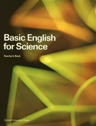 BASIC ENGLISH FOR SCIENCE TEACHER´S BOOK : 9780194571814