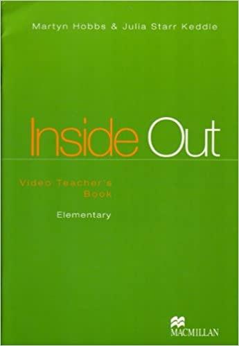 INSIDE OUT ELEMENTARY Video Teacher´s Book : 9780333959305