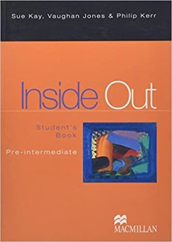 INSIDE OUT PRE-INTERMEDIATE Student´s Book