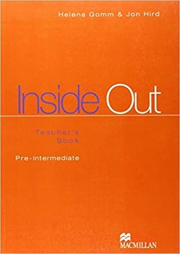 INSIDE OUT PRE-INTERMEDIATE Teacher´s Book : 9780333975879