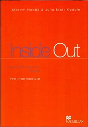 INSIDE OUT PRE-INTERMEDIATE Video Teacher´s Book