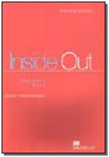 INSIDE OUT UPPER-INTERMEDIATE Teacher´s Book : 9780333757642