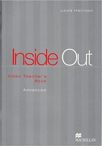 INSIDE OUT ADVANCED Video Teacher´s Book : 9780333959381