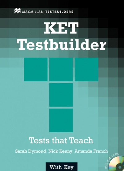 KET Testbuilder With Key and Audio CD