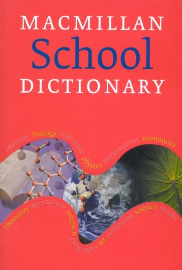 Macmillan School Dictionary Paperback : 9781405013420