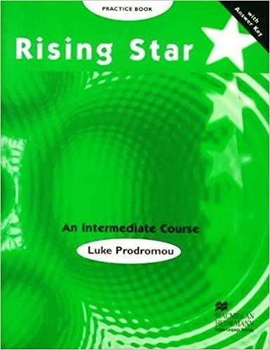 RISING STAR Intermediate Practice Book With Key : 9780333953440