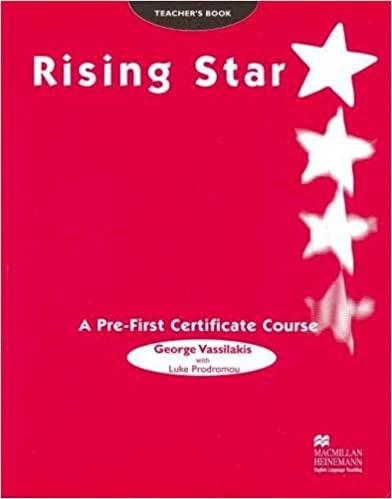 RISING STAR Pre-FCE Teacher´s Book