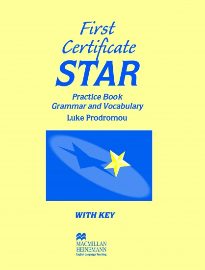 FIRST CERTIFICATE STAR Practice Book With Key : 9780435281526