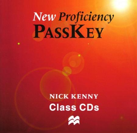NEW PROFICIENCY PASSKEY Audio CDs (2) : 9780333974414