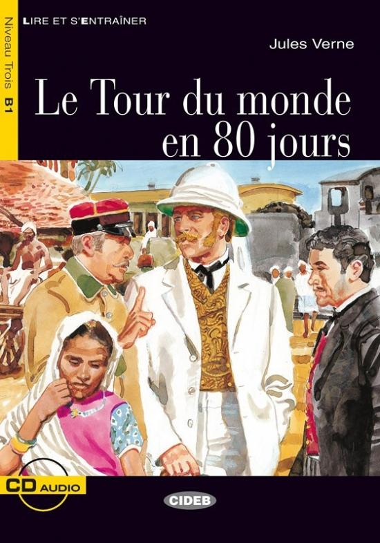 BLACK CAT - LE TOUR DE MONDE EN 80 JOURS + CD (B1) : 9788853003867