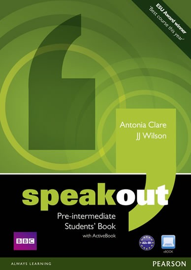 Speakout Pre-intermediate Student´s Book and DVD/ Active Book
