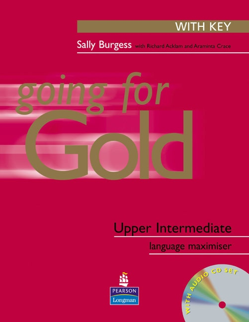 GOING FOR GOLD Upper Intermediate Exam Maximiser With Key & Audio CDs