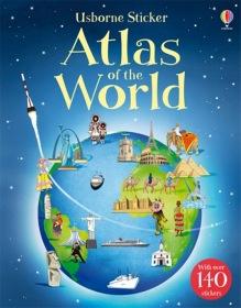 Usborne Sticker Atlas of the World