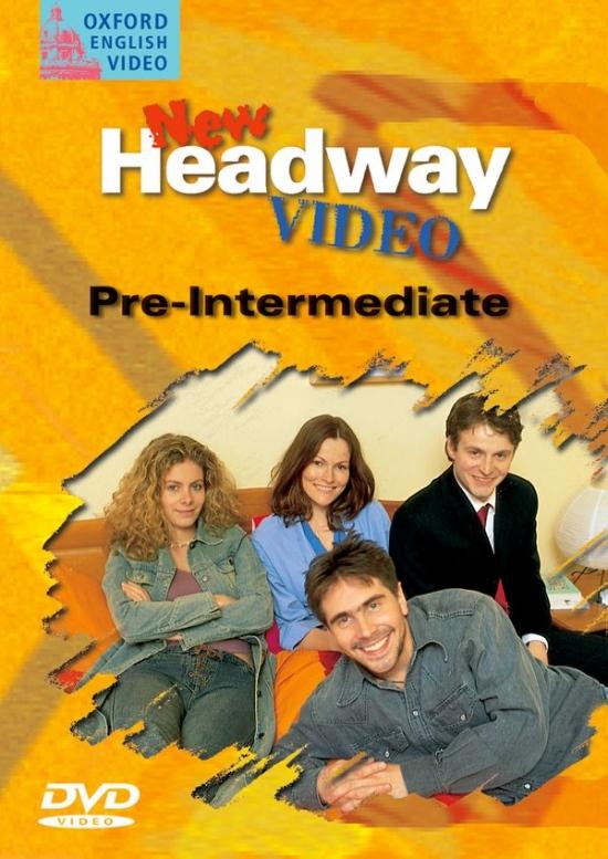 NEW HEADWAY PRE-INTERMEDIATE DVD : 9780194581929