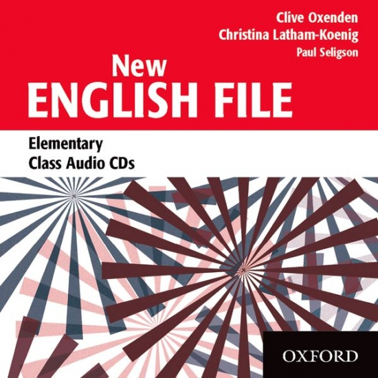 NEW ENGLISH FILE ELEMENTARY CLASS CD (3)
