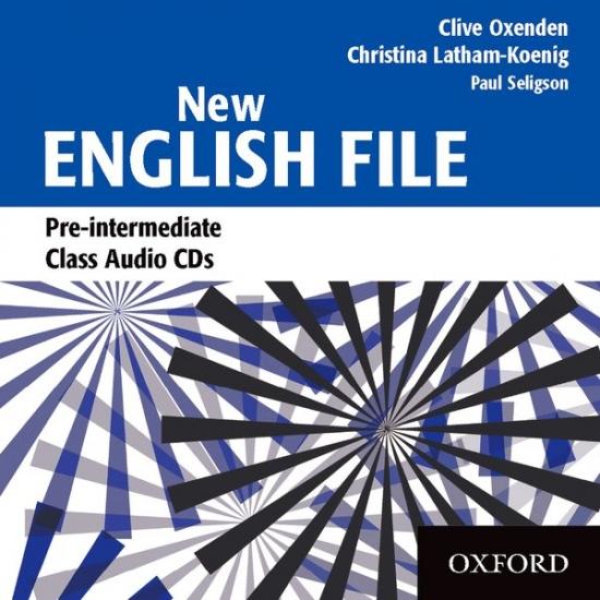 NEW ENGLISH FILE PRE-INTERMEDIATE CLASS CD