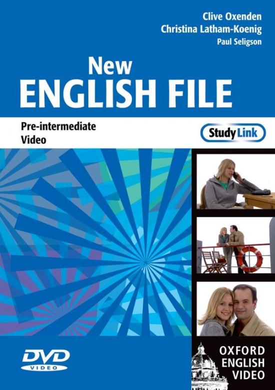 NEW ENGLISH FILE PRE-INTERMEDIATE DVD