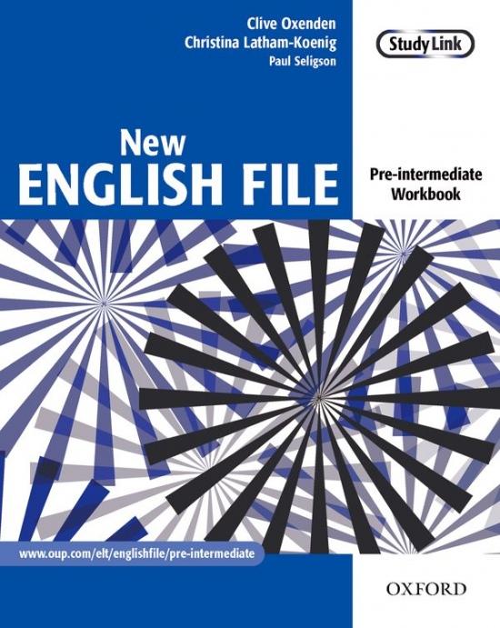NEW ENGLISH FILE PRE-INTERMEDIATE WORKBOOK : 9780194384360