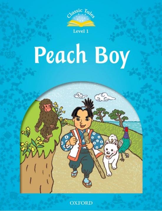 CLASSIC TALES Second Edition Beginner 1 Peach Boy