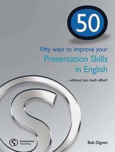 50 WAYS PRESENTATION SKILLS IN ENGLISH