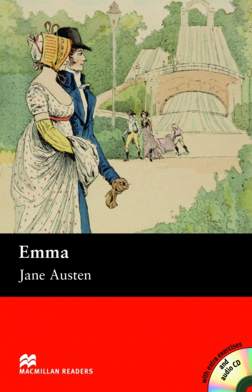 Macmillan Readers Intermediate Emma + CD : 9781405074544