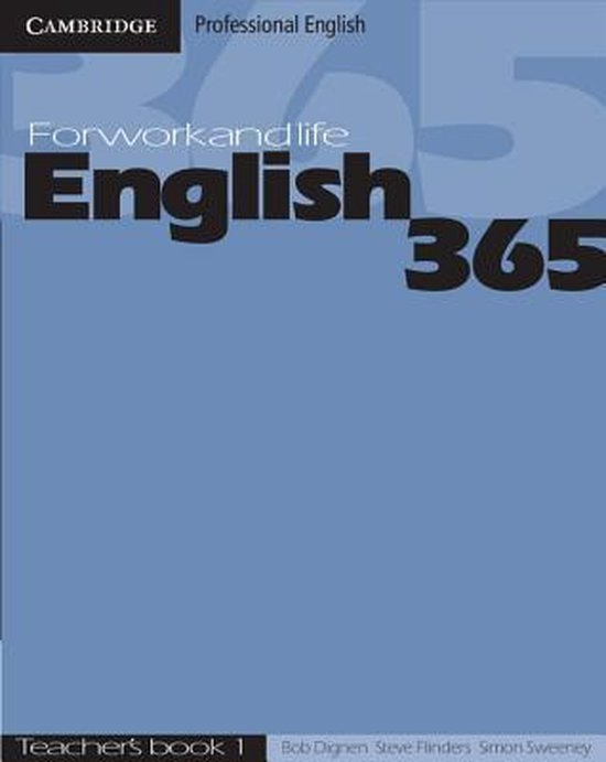 English 365 1 Teacher´s Book