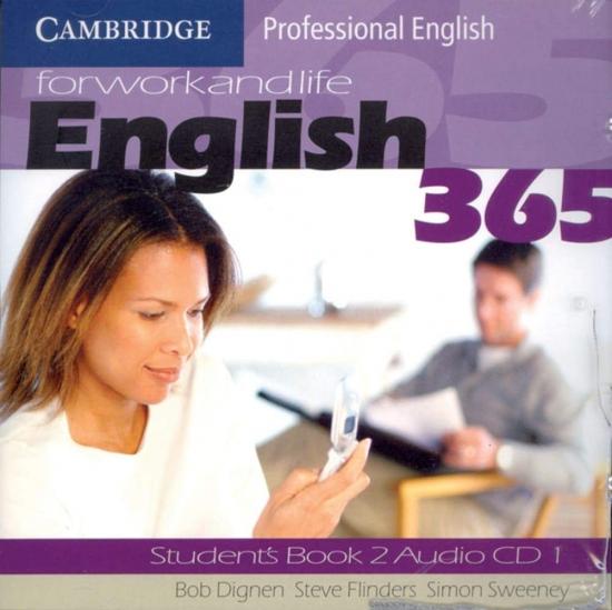 English 365 2 Audio CDs