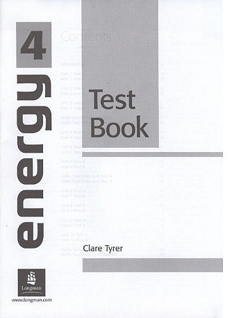 Energy 4 Test Book : 9780582777866