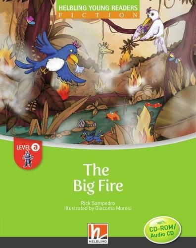 HELBLING Young Readers A The Big Fire + CD/CD-ROM (Rick Sampedro)