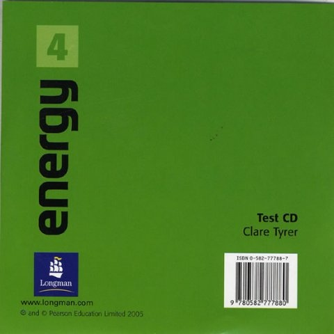 Energy 4 Test CD