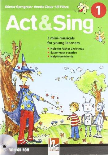 Helbling Primary Act & Sing 1 + Audio CD