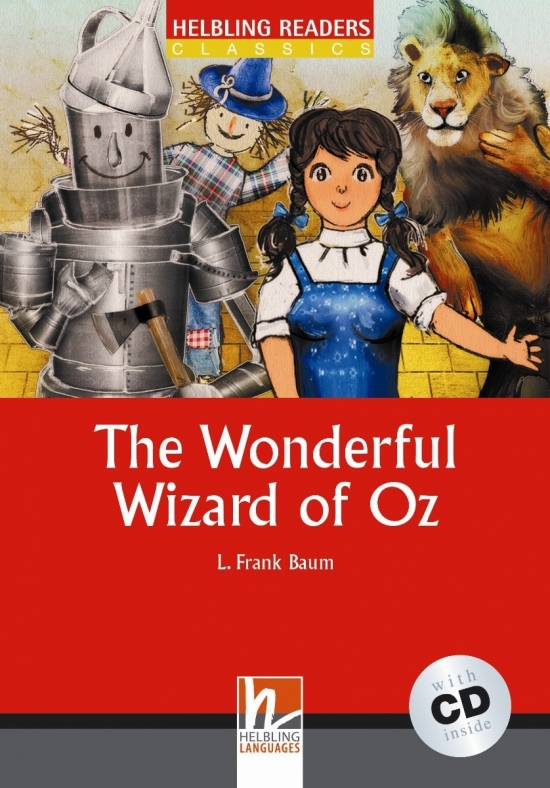 HELBLING READERS Red Series Level 1 The Wonderful Wizard of Oz + Audio CD (L. Frank Baum)