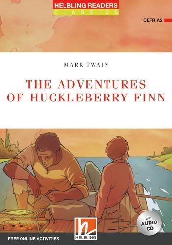 HELBLING READERS Red Series Level 3 The Adventures of Huckleberry Finn + Audio CD + e-Zone (Mark Twain)