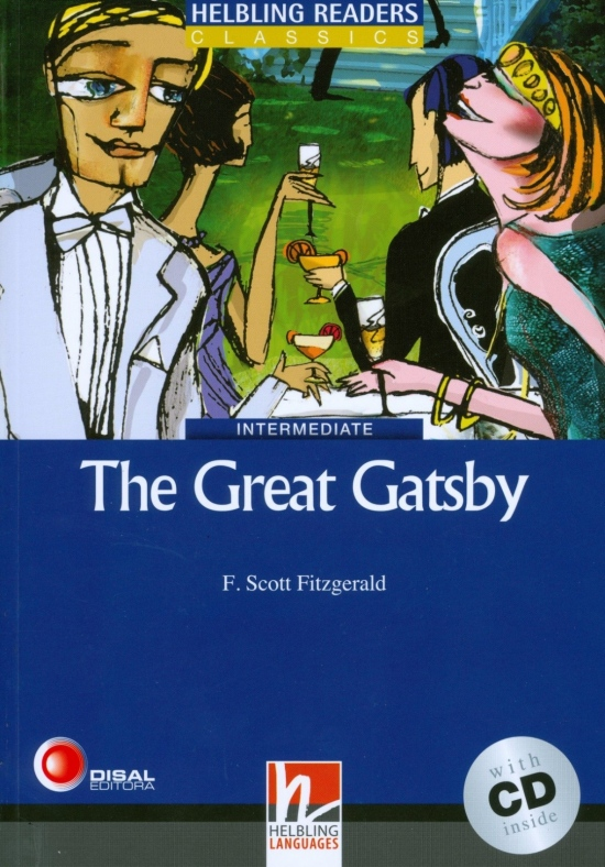 HELBLING READERS Blue Series Level 5 The Great Gatsby + Audio CD (Francis Scott Fitzgerald)