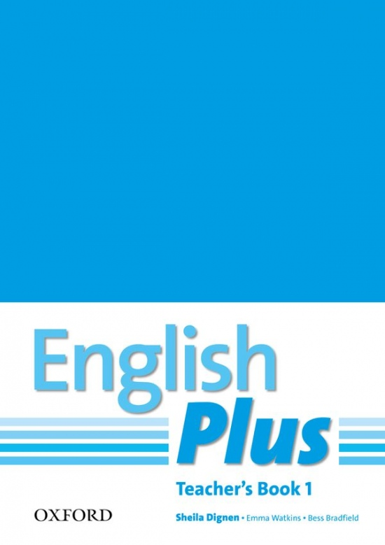 English Plus 1 Teacher´s Book with photocopiable resources